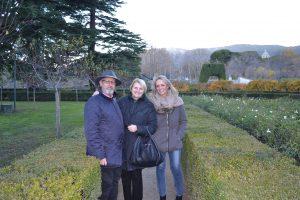 Luis Alberto Herreros, Dorothy Halmilton y Cristina Ramos, Directora Gaia Comunicación