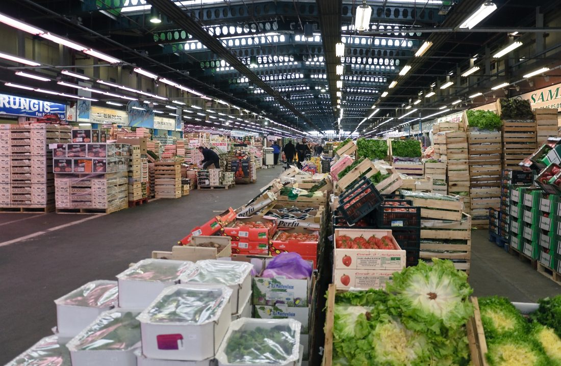 Mercado Rungis, Francia