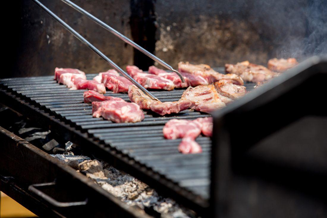 Barbacoa carnes con estilo