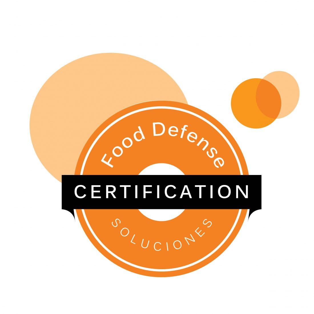Sello certificación Food Defense