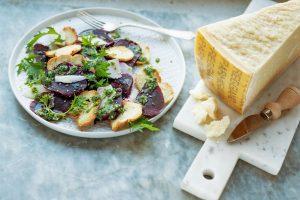 Ensaladas con Parmigiano
